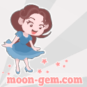 Moon-Gem ~ Digital and Traditional Illustrations